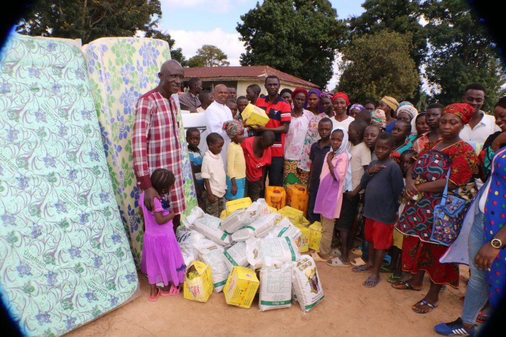 Nigeria aid distribution